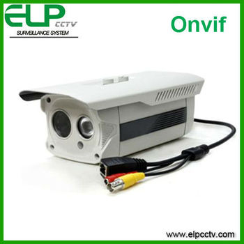 IP car plate camera Outdoor waterproof Array LED IP Camera ELP-IP1160A