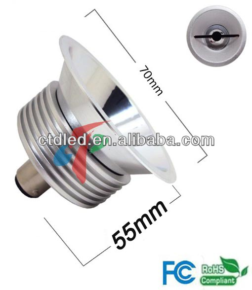 LED spotlight B15d QR70/AR70 LED Replacement to philips halogen 50W Qr70