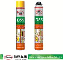 All purpose 500ml white expanding polyurethane foam sealant with competitive price
