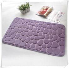Branded best selling safety bathroom mats/Memory foam bath mat_ Qinyi