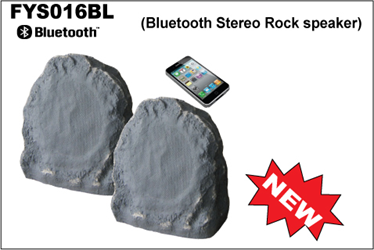 New Design Waterproof Commercial Wireless Rock Bluetooth Speakers