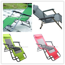 Wholesale Custom Lightweight Aluminum Folding Sun Loungers Beach Folding Chair