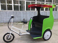 rickshaw for passenger with human-powered style or electric style