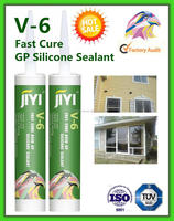High quality one component transparent acetoxy silicone sealant for window door