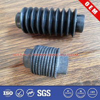 OEM custom made expansion rubber bellows for pipe fittings