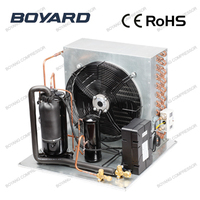 cooling condenser with R404A refrigerating compressor for cold room freezer refrigeration unit