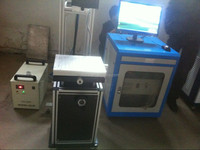 Co2 Laser Marking Machine for making name plates/barcode labels/asset tags