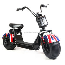 18 inch1000w 60v high quality blushless eagle electric scooter/fat tire electric motorcycle