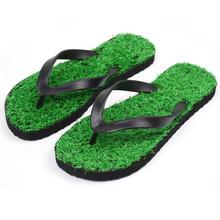 New Design Flip Flops Summer Grass Slippers For Beach