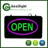 New Invention Neon RGB Led OPEN Sign with Custom Design