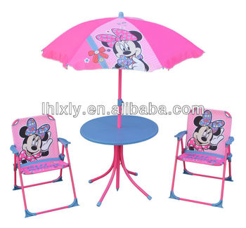Minnie kids patio set kids outdoor furniture table and chairs set buy kids furniture study - Table et chaise minnie ...