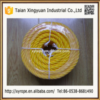 The Polypropylene 3-strand Twisted Recycled PP Cable Rope