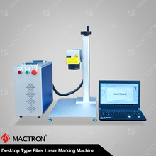 Tool , Jewellery And Equipment Desktop Optical Fiber Laser Marking Machine With CE