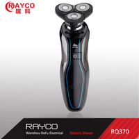 RAYCO black men electric shaver with three rotary