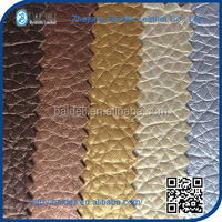 vinyl PVC pu synthetic polished leather for shoes and bags making