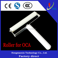 8cm Mobile phone LCD Screen Roller For Attaching LCD Laminating OCA Optical Adhesive Tape