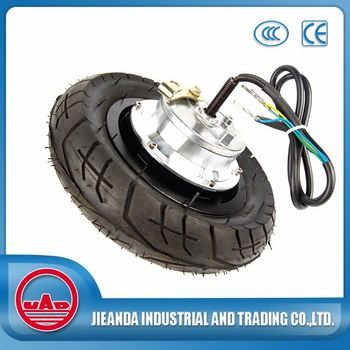 10inch 250w smart wheels brushless hub motor for kick electric bicycle