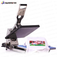 Auto-Open heat press machine for t shirts