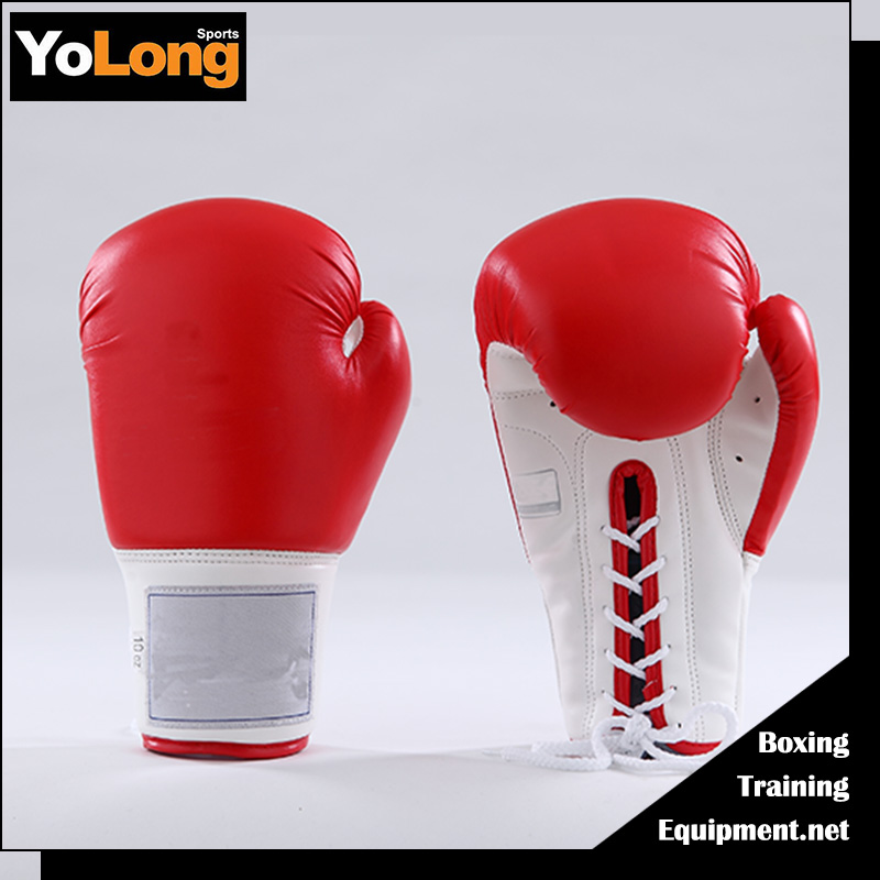 Top grade giant boxing gloves for sale,lace up competition boxing gloves winning