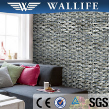 YS10405 bamboo design 3d pvc home decoration wallpaper