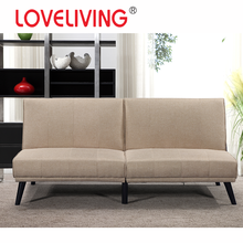 Modern Style Fabric Double Back Sofa Bed Folding
