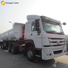 Heavy Duty High Quality 3-Axle Tipper Dump Trailers multi-axle Hydraulic Truck Trailer For Sale
