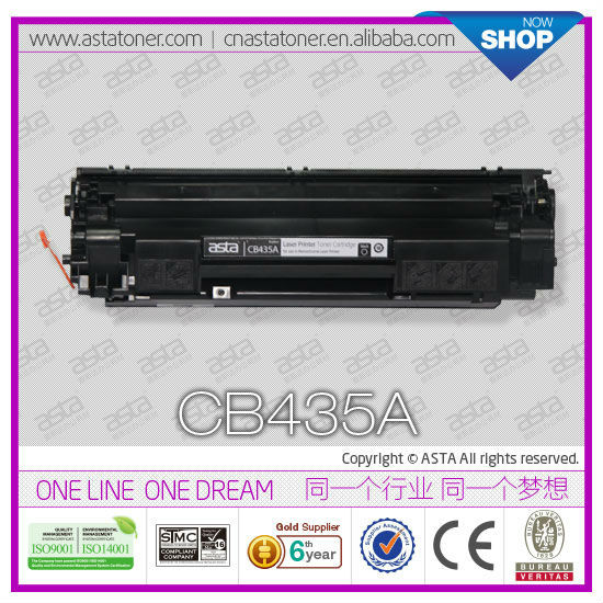 Toner cartridge trotec laser jet Printer ASTA toner CB435A for hp P1003 compatible toner cartridge 435a