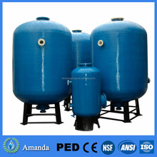 fiberglass water pressure tanks ion exchange resin/media filter fiberglass water pressure tanks