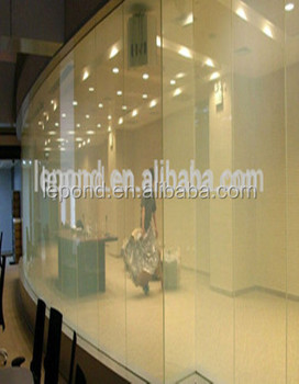 business high quality smart glass door