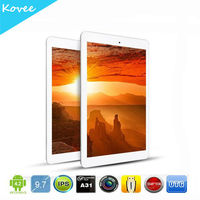 "9.7"" Retina IPS Android 4.2 Tablet PC Onda V975 2GB RAM+16GB ROM+Allwiner A31 Quad Core 1GHz+5.0MP+2048*1536"