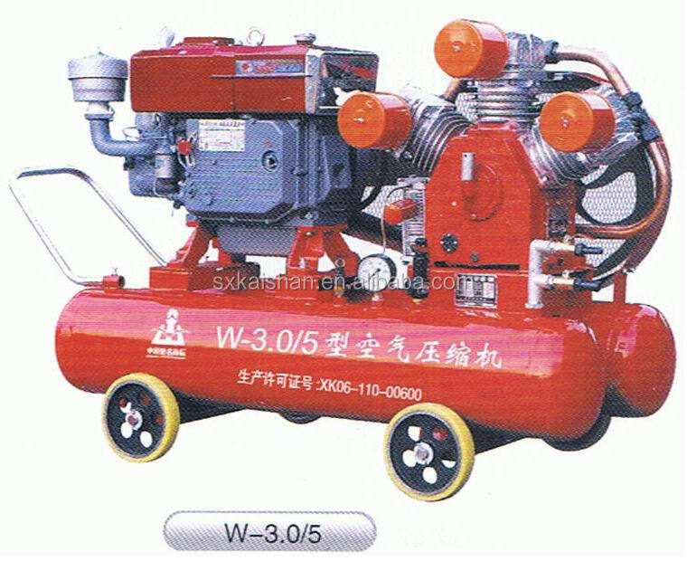7 bar 3 cylinder mining used piston air compressor