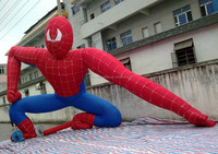 Custom Inflatable Spiderman model with factory price