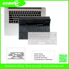 Easiest for Iphone and Ipad factory latest design Mini foldable bluetooth keyboard