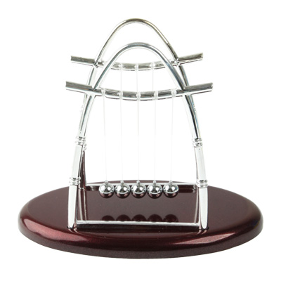 Promotion 12mm Newton's Cradle Balance Ball Physics Science Fun Desk <strong>Toy</strong>