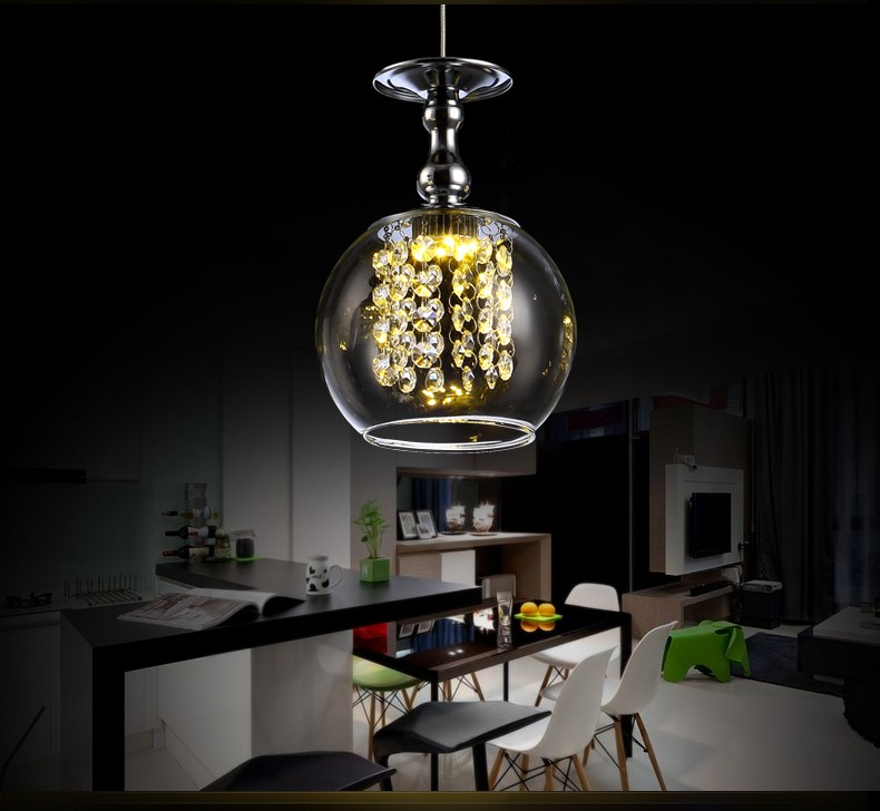 Hot Sale Modern High Quality Clear Glass Crystal Ceiling Light