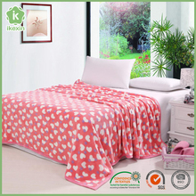 China Printed Customized Flannel Signature Blankets