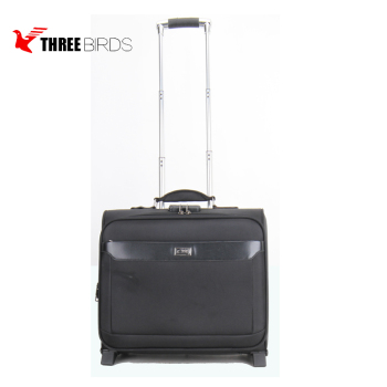 2 wheels 15 inch business pilot suitcase luggage with OEM&ODM service