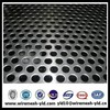 round hole decorative perforated sheet metal panel,perforated fence
