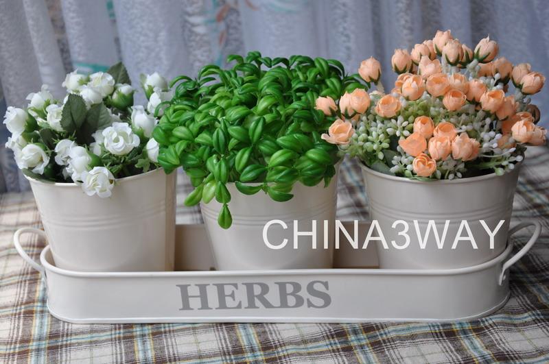 Jardinage d 39 int rieur tain herb pots pots fleurs for Jardinage d interieur
