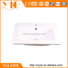 Made in china 530*460*180mm ceramic bathroom suites basin