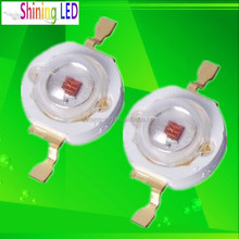 Shenzhen electronic component 3 Watt High Power LED Red 615nm 620nm 630nm