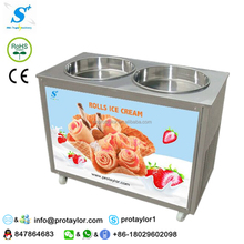 50L high production fry ice cream machine ul