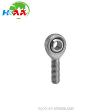 chrome steel pillow ball rod end bearing, left hand ball joint bearing