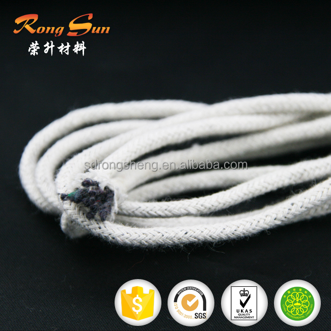 3mm-10mm White cotton piping cord &cotton rope for sofa or mattress
