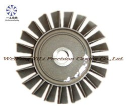 nickel base alloy vacuum casting turbine wheel-66mm