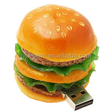 Hot new product various food shape PVC usb flash drive carton usb 2.0 2gb 4gb 8gb for free sample