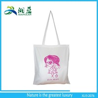 eco friendly cheap cotton cloth carry bag/reusable organic cotton bread bag for promotion