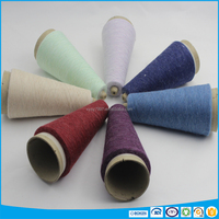 100% linen/flax knitting/weaving melange yarn
