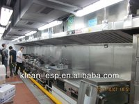 Catering Oil Fume Range Hood with Electronic Filter