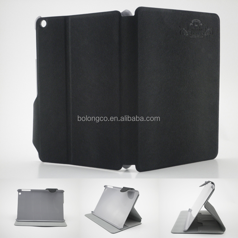ultra slim design for apple ipad mini case sleep wake function China cellphone accessories